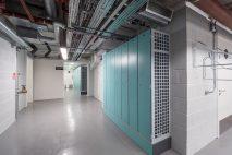 Customised heated wire mesh lockers