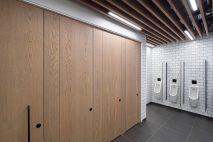 Esteem full height system for maximum privacy