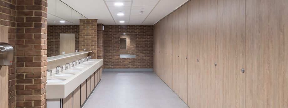 Options for enhanced privacy in washroom design